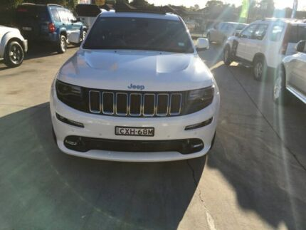 2015 Jeep Grand Cherokee SRT-8 White Automatic SUV