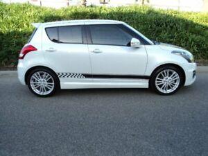 2012 Suzuki Swift FZ Sport White 6 Speed Manual Hatchback Hughesdale Monash Area Preview