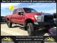 2015 Ford F350 Super Duty  ~ Loaded ~ 6inch Lift ~ $573 B/W