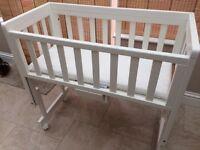 Baby Bed / Crib (drop side) - Troll Nursery
