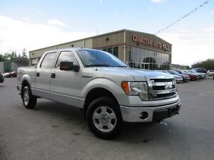 2014 Ford F-150 XLT 4X4 5.0L V8 SUPERCREW, 46K!