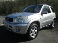 Toyota RAV-4 Nrg VVT-I Estate PETROL MANUAL 2003/03