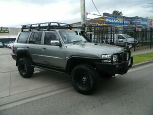2007 Nissan Patrol GU VI ST (4x4) Grey 4 Speed Automatic Wagon Williamstown North Hobsons Bay Area Preview