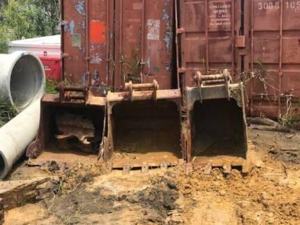42t 20t 14t Excavator 140MGrader& Posi Machine Attachements