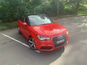 2013 Audi A1 8X MY14 Sportback 1.4 TFSI Attraction Red 7 Speed Auto Direct Shift Hatchback West Gosford Gosford Area Preview