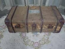 Rustic Antique Trunk O'Connor Fremantle Area Preview