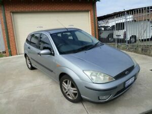 2003 Ford Focus LR MY2003 Zetec Silver 4 Speed Automatic Hatchback Mount Lawley Stirling Area Preview