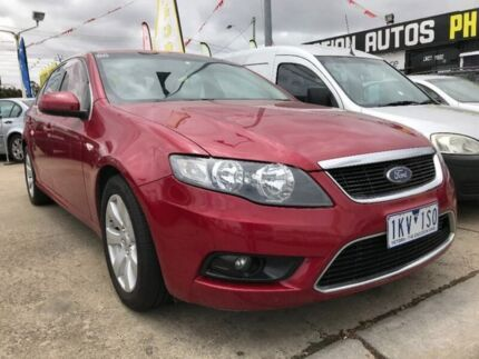 2008 Ford Falcon FG G6 Red 4 Speed Sports Automatic Sedan