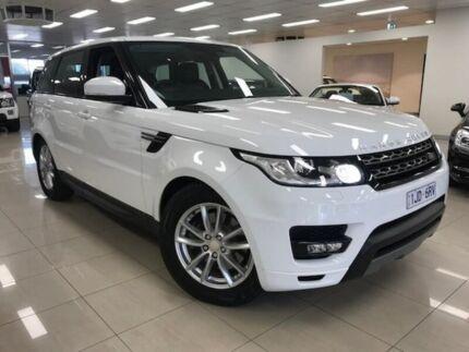 2014 Land Rover Range Rover Sport L494 MY14.5 TdV6 CommandShift SE Fuji White 8 Speed