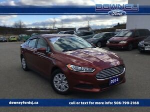 2014 Ford Fusion S BLUETOOTH PWR WINDOWS