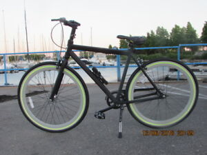 Two Evo Slay single speed bicycles as new