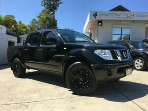 2012 Nissan Navara D40 S7 MY12 RX Black Automatic Utility Southport Gold Coast City Preview