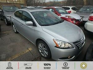 2013 Nissan Sentra 1.8 SV LEATHER! BT! BACKUP CAM! ECO! SPORT!