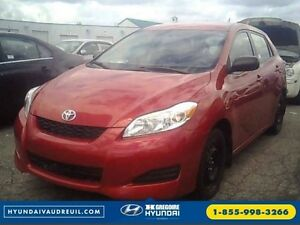 2013 Toyota Matrix Auto A/C GR.ELEC USB/MP3 8-Pneus Inclus