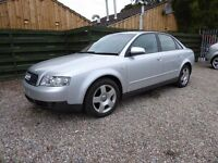 Audi A4 2.0 SE, 4Dr, in Metallic Silver, Part Exchange -Trade In to Clear, Excellent Service History