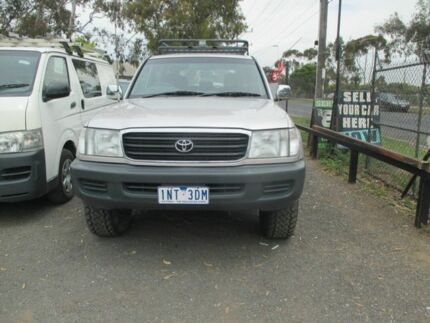 1999 Toyota Landcruiser GXL Silver 4 Speed Auto Active Select Wagon Werribee Wyndham Area Preview