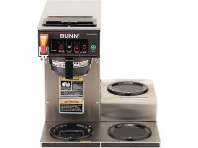 Bunn Cwtf-15 Three Lower Burner Coffee Brewer