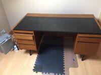 vintage office desk