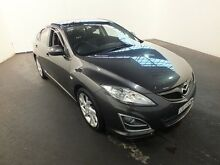 2011 Mazda 6 GH MY10 Luxury Sports Grey 5 Speed Auto Activematic Hatchback Clemton Park Canterbury Area Preview