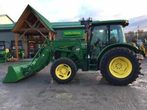 2013 JOHN DEERE 5100M WITH LOADER AND CAB
