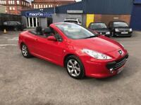57 REG Peugeot 307 CC 1.6 ALLURE CONVERTIBLE - LONG MOT