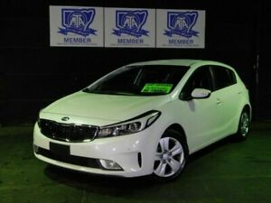 2017 Kia Cerato YD MY17 S Clear White 6 Speed Sports Automatic Hatchback Albion Park Rail Shellharbour Area Preview