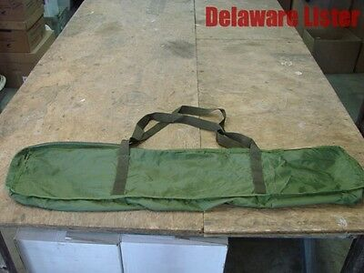 *US MILITARY Bag for Folding Cot OD Green Carry Bag w/Handle & Zipper Camping