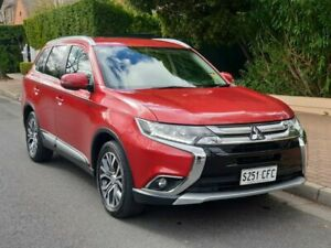 2017 Mitsubishi Outlander ZK MY17 LS 2WD Red 6 Speed Constant Variable Wagon Prospect Prospect Area Preview