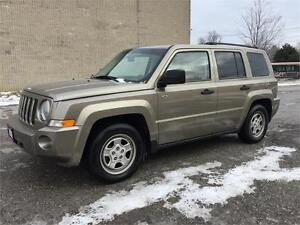 2008 Jeep Patriot SPORT/Good KM/Sunroof/Certified & E-Tested