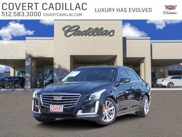 2018 Cadillac CTS Sedan Luxury RWD 57199 Miles Stellar Black Metallic 4dr Car Tu