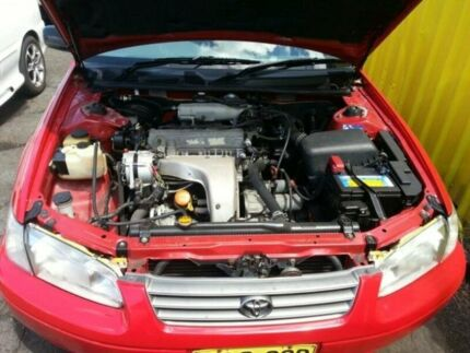 1997 Toyota Camry SXV20R CSi Red 4 Speed Automatic Sedan Islington Newcastle Area Preview