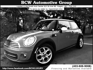 2013 MINI Cooper LIKE NEW Only 9365 kms Certified $17,795.00