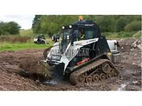 TEREX TRACK LOADER SKIDSTEER, SKID STEER LOADER, DONT GET STUCK!