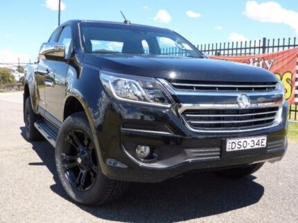 2017 Holden Colorado RG MY17 LTZ Pickup Space Cab Black 6 Speed Sports Automatic Utility
