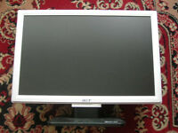 "Acer 24"" LCD Monitor Model: AL2416W A – Faulty For Spares / Repairs Only!"