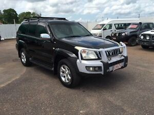 2006 Toyota Landcruiser Prado GRJ120R Grande (4x4) Black 5 Speed Automatic Wagon Holtze Litchfield Area Preview