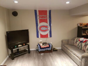 Basement suite - Avail Apr 16, One Free Month with Lease