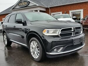 2016 Dodge Durango Limited AWD, Leather Heated Seats, Sunroof, D