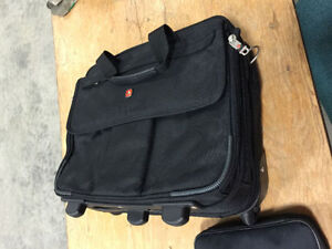 Brand new Swiss Army computer/ travel bag on wheels!