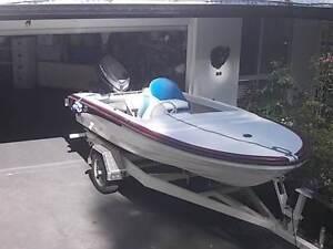 13.5ft Fibreglass boat and trailer (4.2mtr) Maroochydore Maroochydore Area Preview