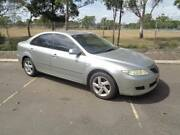 2005 Mazda 6 GG1031 MY04 Classic Silver 4 Speed Sports Automatic Hatchback Clontarf Redcliffe Area Preview