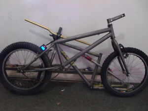 Koza Modified Titanium Trials bike