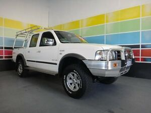 2005 Ford Courier PH XLT White 5 Speed Automatic Wangara Wanneroo Area Preview