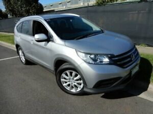 2013 Honda CR-V RM MY14 VTi-L 4WD Silver 5 Speed Sports Automatic Wagon Moorabbin Kingston Area Preview
