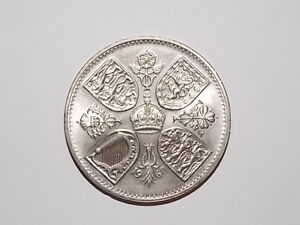 1960 Five Shillings Silver Coin Armidale City Preview