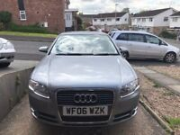 2006 AUDI A4 AUTOMATIC GREY IN GOOD CONDITION