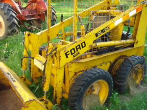 small ford skidsteer