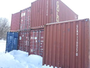 Shipping containers here in Peterborough WINTER SALE