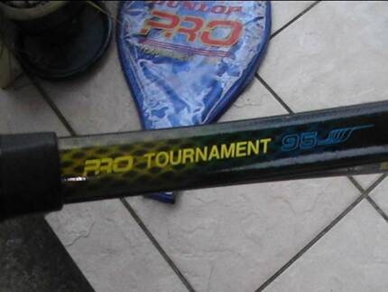 Dunlop Pro Tournament 95 tennis racquet Belmont South Lake Macquarie Area Preview