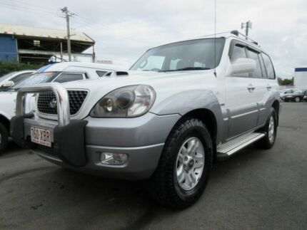 2005 Hyundai Terracan HP MY05 White 5 Speed Manual Wagon Yeerongpilly Brisbane South West Preview